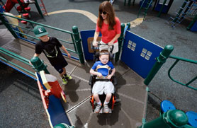 Increasingly, Parents Push For Inclusive Playgrounds