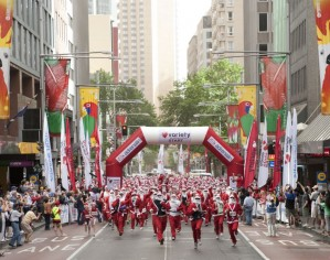 The Santa Fun Run