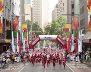 The Santa Fun Run